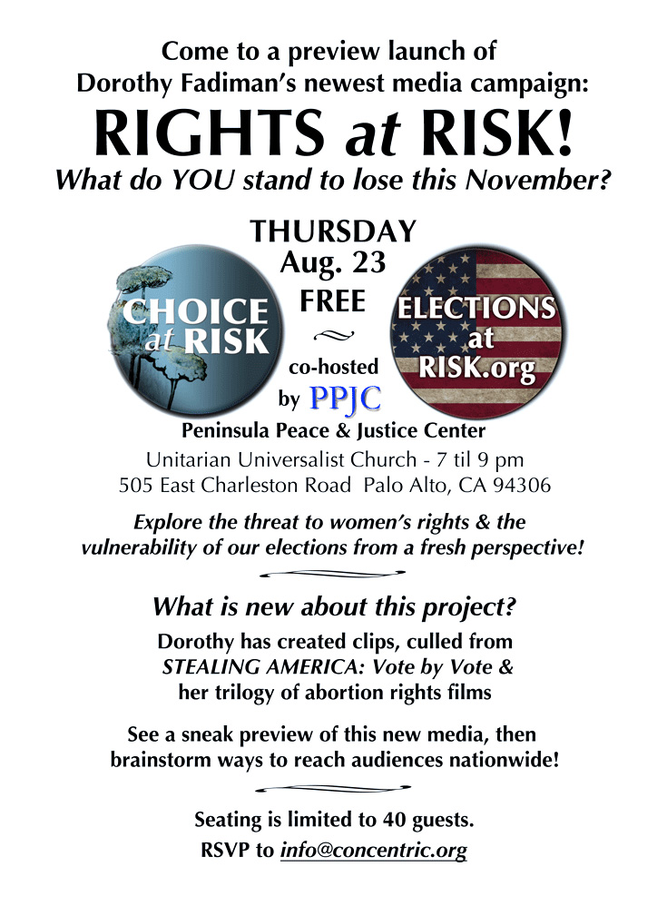 Invitation for Rights at Risk